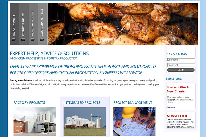 Hawley Associates  web site